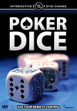 POKER DICE INTERACTIVE DVD - DVD - REGION 2 UK