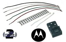 Motorola HLN9457AR HLN9457 16-Pin Accessory Connector Kit CM200, CM300, M1225 LS