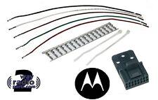 Motorola HLN9457AR HLN9457 16-Pin Accessory Connector Kit CDM1250 CDM750 GM300