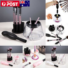Electric Makeup Brush Cleaner And Dryer Set Includes Brush Collar Stand FR stoYT