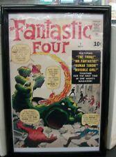 """FANTASTIC FOUR #1 FRAMED 19"""" X 13"""" POSTER"""