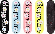 d6f7c452 Supreme Flowers Skateboard Deck SS17 100 Authentic Bag