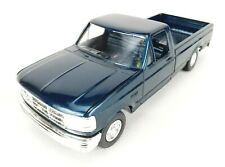Ertl AMT 1994 Ford F150 Pickup XLT 1 25 Scale Blue Project Truck
