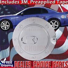 1999 2000 2001 2002 2003 2004 FORD MUSTANG Chrome Gas Door Cover Overlay Fuel