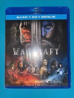 Warcraft The Beginning Blu-ray Travis Fimmel BRAND NEW