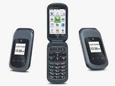 Pantech Breeze 4 P2050 AT&T Cellular Phone Black