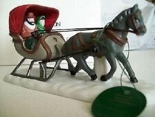 DEPARTMENT 56 , ONE HORSE OPEN SLEIGH FIGURE -5982-0 ,  MINT IN BOX
