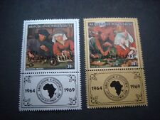 Rwanda 1974 African Bank Development set of 2 MH SG 629-30 Cat £4-75