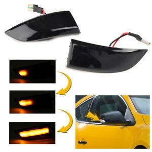 LED Dynamic Turn Signal Light Mirror Lamp For Renault Megane MK3 Scenic Fluence