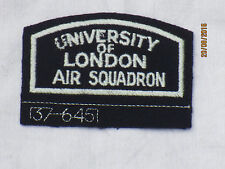 Royal Air Force, University of London Air Squadron,RAF, 78x54mm