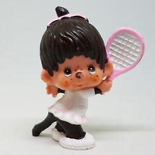 Vtg Monchhichi Tennis Girl Figure Sekinuchi 1979 Monchichi Backhand Cake Topper