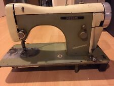 Vintage Sewing Machine NECCHI As Is Not Tested