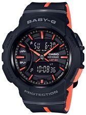 Casio Baby-G * BGA240L-1A Runner Anadigi Black and Peach Resin Watch #crzycod