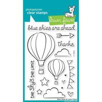 Lawn Fawn Clear Stamps Set Blue Skies LF511 NEW