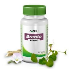 Zandu Brento Forte 60 Tablets Ayurveda Ayurvedic Herbal Product