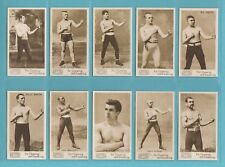 More details for boxing - nostalgia repros  (of mayo)  -  10  sets  of  35  prizefighters  cards