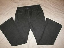 Women's Randolph Duke The Look Black Denim Jeans - Size 8