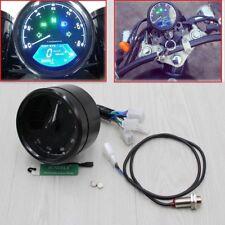 Universal LCD Digital Motorcycle Speedometer Odometer Motorbike Tachometer MPH