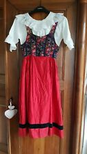 Ancien Costume Alsacien Robe De Jeune Fille