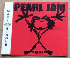 Pearl Jam Alive UK CD Single