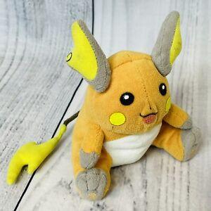 "Pokémon RAICHU Plush Toy Doll Hasbro 1999 Beanie Nintendo 6"" No Tag ORIGINAL"
