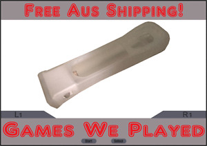 Genuine Nintendo Wii White Motion Plus Adapter with Silicone Cover Wii U Mote