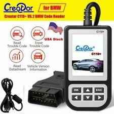 Creator C110 OBD2 Airbag ABS SRS Diagnostic tool Fault Code Reader Scanner V6.0