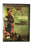 High Tension DVD 2005 Widescreen Unrated Fast Free Shipping