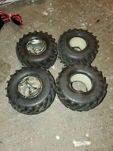 RARE PROLINE MASHER 2000 TIRES WITH INSERTS