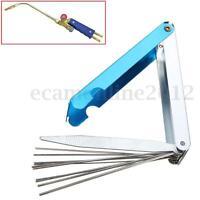 Tip Cleaner Needle File Set Welding Nozzle  Kit Stainless Steel Welder Soldering