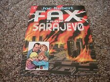 "Joe Kubert ""Fax from Sarajevo"" Promo Extremely Rare"