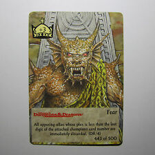 TSR Spellfire CCG 4th Edition Card M/NM 443/500 Fear