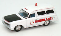 NEW 1963 White Holden EH Panel Van AMBULANCE 1:87 Diecast Model Car - Cooee