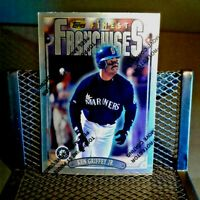 Topps Finest 1996 Ken Griffey jr Seattle Mariners FREE Shipping