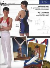 Jalie 2914 Men's Boy's Gymnastics Shorts and Pants Sports Sewing Pattern