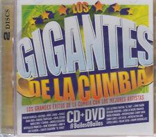 SEALED - Los Gigantes De La Cumbia CD + DVD Los Mejores Artistas - BRAND NEW