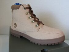 Timberland Bush Hiker Canvas Boots Light Brown Tan Men's Size 10 TB0A1JGG