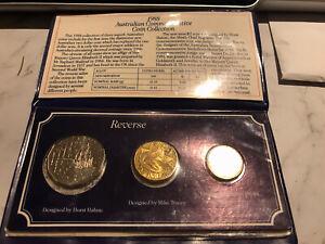 1988 Arnott's Snack Foods Australian Commemorative Coin Collection 3 Coin Folder