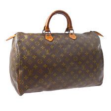 LOUIS VUITTON SPEEDY 40 HAND BAG MONOGRAM PURSE M41522 VINTAGE A52905a