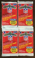 1989 Pro Set Series II  WAX PACK(4)  BARRY SANDERS, AIKMAN, DION ?  G7020618