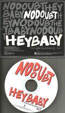 Gwen Stefani NO DOUBT w/ BOUNTY KILLER Hey baby 2001 USA PROMO DJ CD Single MINT