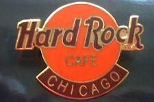 HRC Hard Rock Cafe Chicago Logo Orange