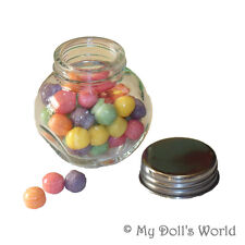 MINI CANDY JAR! FITS MY AMERICAN GIRL DOLL! KIRSTEN~GRACE~EASTER BASKET FILLER!
