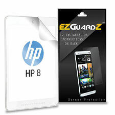 "2X EZguardz LCD Screen Protector Guard HD 2X For HP 8 1401 8"" Tablet (Clear)"
