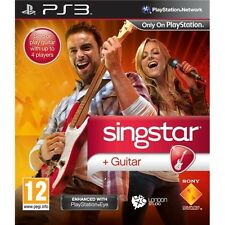 SINGSTAR GUITAR  playstation 3    PS3    nuovo!!!