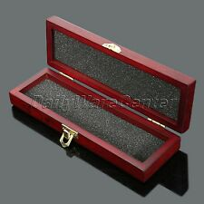 Vintage Retro Wooden Box Case for Razor Knife safty shaver Shaving Tool Gift