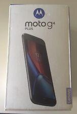 Motorola Lenovo Moto G4 16GB 4G Sim Black Libre Desbloqueado Plus Teléfono Inteligente Móvil
