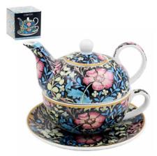Vintage Retro Compton Tea For One Fine China Teapot Gift Boxed Teacup & Saucer