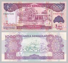 Somalilandia 1000 shilin 2014 p20c unz.
