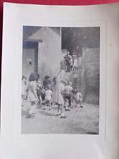 charmante PHOTOGRAPHIE ANCIENNE groupe d'enfants ca1940 , vintage Children photo
